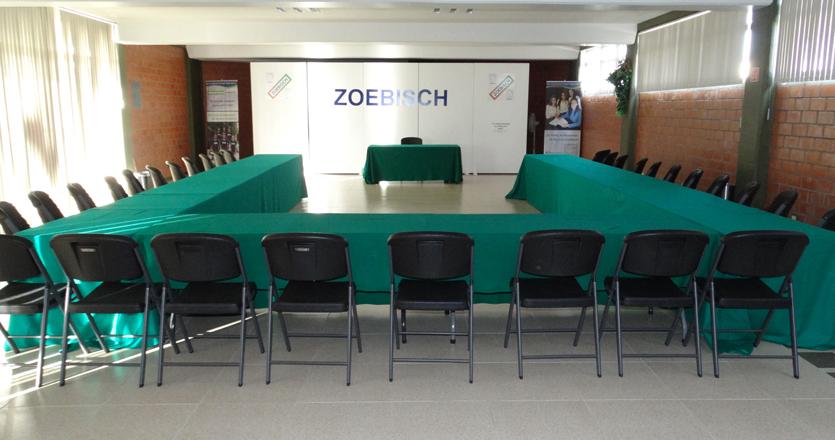 Salon de usos multiples preparatoria zoebisch for Salon de usos multiples programa arquitectonico